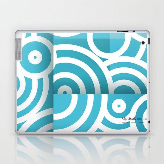 optical illusion_1 Laptop & iPad Skin