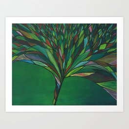 Tiffany Blossom Art Print