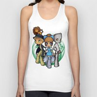oz Tank Tops featuring Oz  by Mickey Spectrum