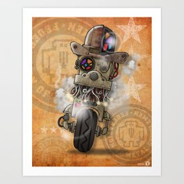 FMG - 002 Art Print