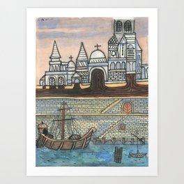 Crystal City 08-17-10a Art Print