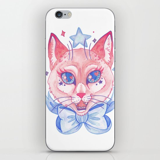 Kawaii Kitty iPhone & iPod Skin
