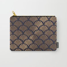 Art Deco Shell Pattern Carry-All Pouch