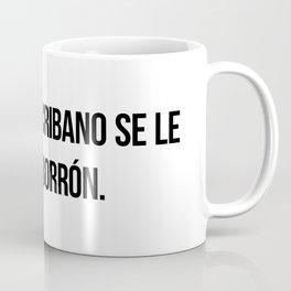 Al mejor escribano se le va un borrón. Coffee Mug