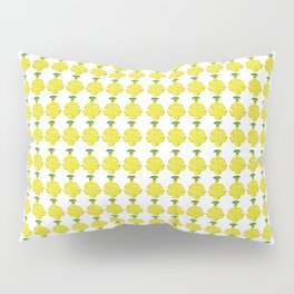 Cat's Claw Bloom illustration (white background) Pillow Sham