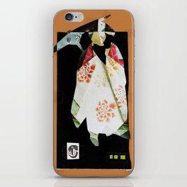 C Silhouette iPhone Skin