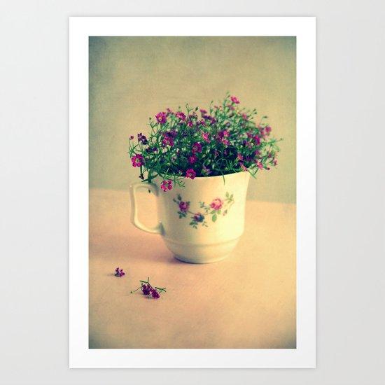 romantic day Art Print