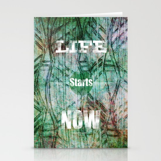 Life Starts Now Stationery Cards