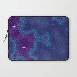 Purple Sparkle Galaxy Laptop Sleeve