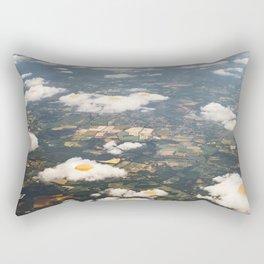 Eggy Clouds - Sunny side up Rectangular Pillow