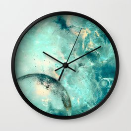 Planets Discovery Wall Clock