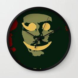 Che Emoticomunist Emoji Pop Art Protest Wall Clock