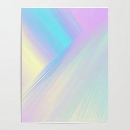 Cosmic Light Reflection Poster