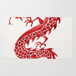 Chinese Dragon – Crimson Palette Rug