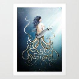 Sea Sisters - Callisto Art Print