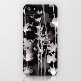 Flower Photogram #2 iPhone Case