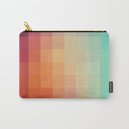 Geometric sunset Carry-All Pouch