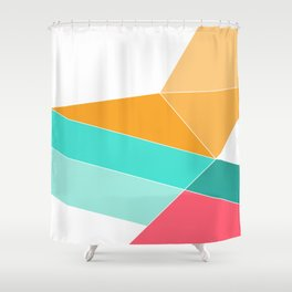 Entropy Slide Shower Curtain