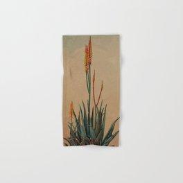 Blooming succulent Hand & Bath Towel