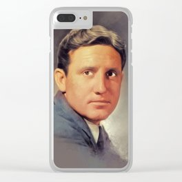 Spencer Tracy, Hollywood Legend Clear iPhone Case