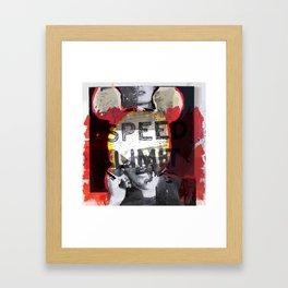 Poster art design Framed Art Print