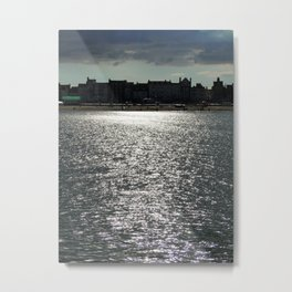 Sea Silhouette Metal Print