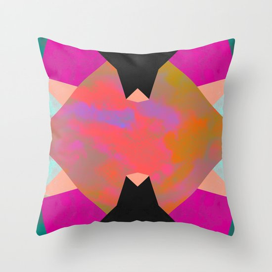 Abstract 04 Throw Pillow