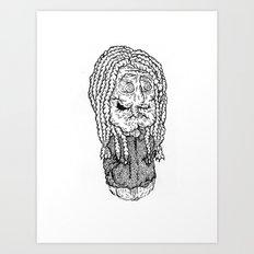 Bach is dead Art Print