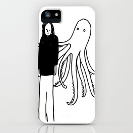 Octopus Hug iPhone Case