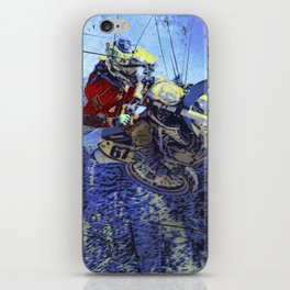 Motocross Dirt-Bike Championship Race iPhone Skin