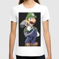 luigi T-shirts featuring Luigi by Halohappy