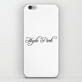 Hyde Park iPhone Skin