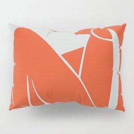 Blue Nude in Orange - Henri Matisse Pillow Sham
