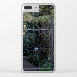Charleston Gate Clear iPhone Case