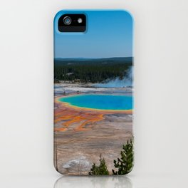 Grand Prismatic Spring, Yellowstone iPhone Case