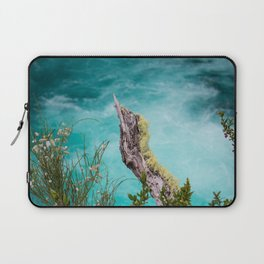 Spectacular view of a stormy ocean Laptop Sleeve