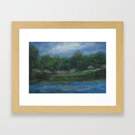 A Cooler View AC151214a-13 Framed Art Print
