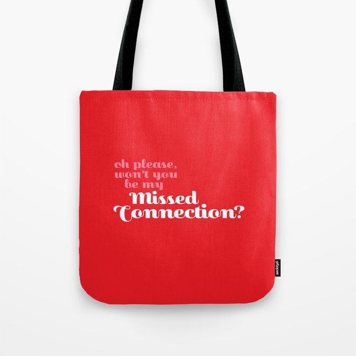 Missed Connections Tote Bag