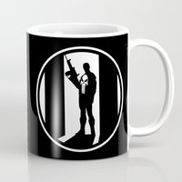 punisher Mugs featuring The Punisher by Comix