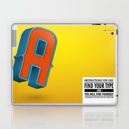 Find your TYPE Laptop & iPad Skin