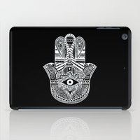 hamsa iPad Cases featuring Hamsa by Louise
