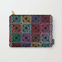 Maze Colorful Seamless Pattern II Carry-All Pouch