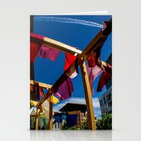 fabric Stationery Cards featuring Fabric by Michelle Chavez