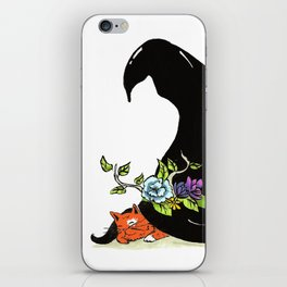 Witchy Friend iPhone Skin