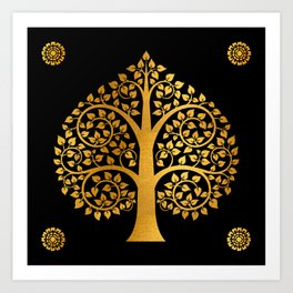 Bodhi Tree0110 Art Print