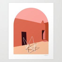 Georgia's Chair Art Print
