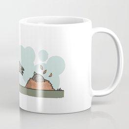Bouncy Badger Coffee Mug