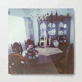 Classic Dining Room Metal Print