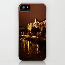 View From Waterloo Bridge #02 iPhone Case