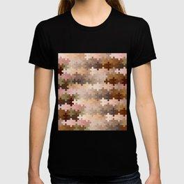 Skin Tone Jigsaw Pieces T-shirt